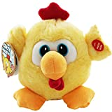 16CM CRAZY CHICKEN MOVING SPINNING SOUNDS MUSIC FUNNY TOY KIDS PLUSH GIFT NEW