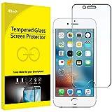 JETech Film de Protection d'écran pour iPhone 6s Plus et iPhone 6 Plus en Verre Trempé