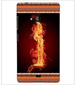 PrintDhaba GRANDbet I D-2536 Back Case Cover for MICROSOFT LUMIA 540 (Multi-Coloured)