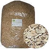 Toprauch Räucherspäne buche Spanfix fein oder grob Buchenspäne 15kg, Körnung:3.0 - 5.0 mm