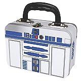 Star Wars - Blechkoffer Brotdose Lunchbox - R2D2 - von zwei Seiten bedruckt