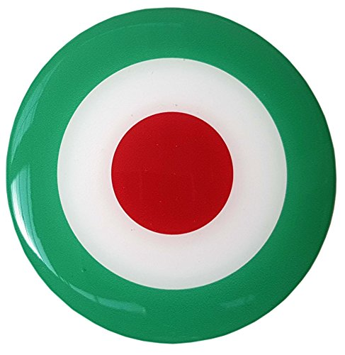 mod-target-adhesivo-insignia-italia-motocicleta-scooter-resina-y-gel-3d-abombada-100-mm