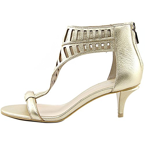Kenneth Cole NY Havemeyer Cuir Sandales Platinum