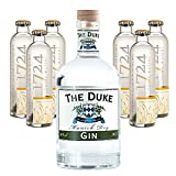 The Duke Munich Bio Dry Gin 45% Vol. 0,7l & 6x0,2l 1724 Tonic Water inkl. Pfand im Set - 7-teilig/1St