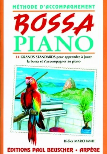 Partition : Bossa piano methode d'ac...