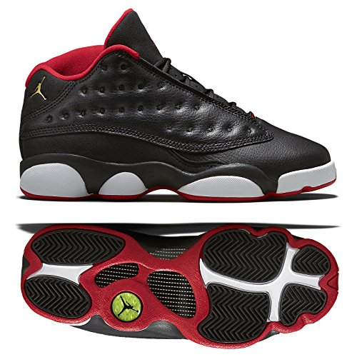 Air Jordan 13 Retro Low BG (GS) 'BRED' - 310811-027 - Size 5.5 -