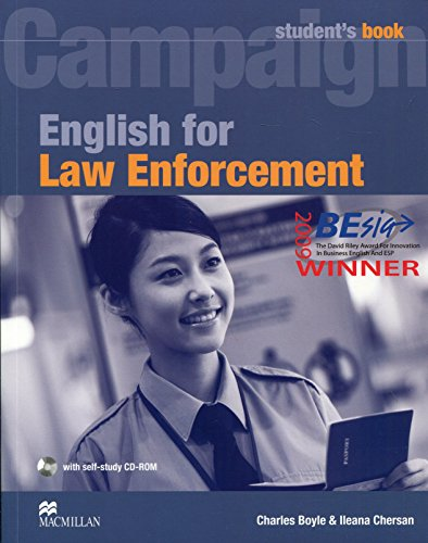 CAMPAIGN For Law Enforcement Sb Pk: Student Book with CD-ROM (English Law Enforc)