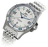 Xezo Men's Professional Pilot Diver Luxury Automatic 200 M WR Watch by Xezo Pens