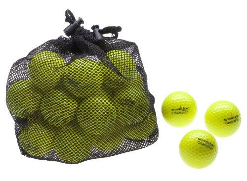 Silverline 25 Golfbälle Champion - Farbe: gelb