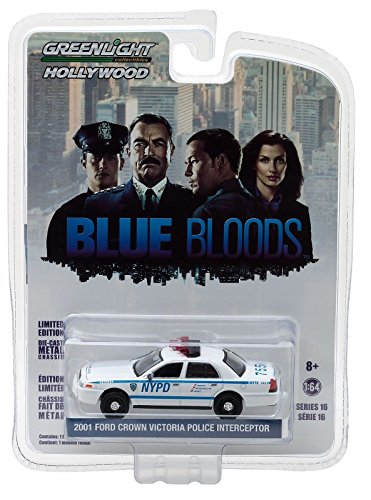 Greenlight NYPD Ford Crown Police Interceptor  Blue Bloods TV Serie 1:64 (Ford Police 1 64)