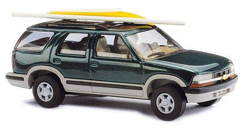 Busch Voitures - BUV46410 - Modélisme Ferroviaire - Chevrolet Blazer Chargée