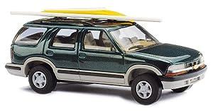 Busch 46410 Chevrolet Blazer - Vehículo con tabla de surf