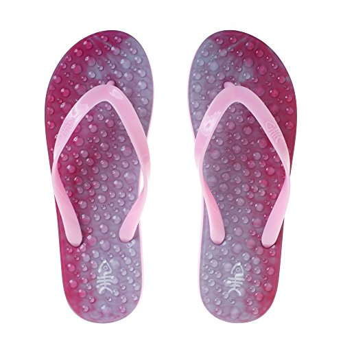 Flopz Tongs Siam Pink Straps