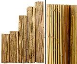Bambus Matte Bali, extrem stabil, 200 x 300 cm, mit Draht durchbohrt und verbunden