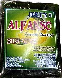 Jeet Alphanso Aam Papad Green Khatta - Pack of 2-400 GMS