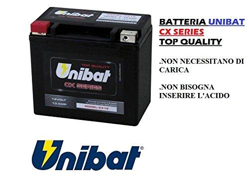 UNIBAT BATTERIA MOTO CX12 NO YUASA