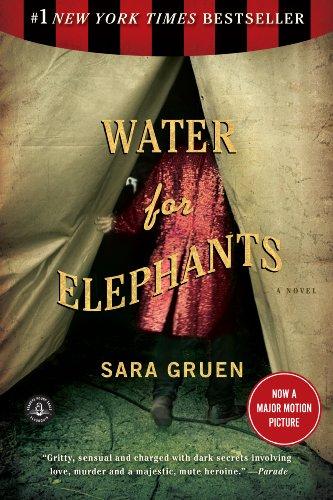 Buchseite und Rezensionen zu 'Water for Elephants' von Sara Gruen