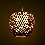 JU Gyy Home Hotel Beleuchtung Exquisite Kronleuchter, Südostasiatischen Bambus Kronleuchter Pastoralen Kreativen Chinesischen Restaurant Arbeitszimmer Teeküche Dekoration Pendelleuchte E27
