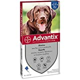 Advantix Spot-on per Cani da 25 a 40 Kg - 4 pipette da 4,0 ml