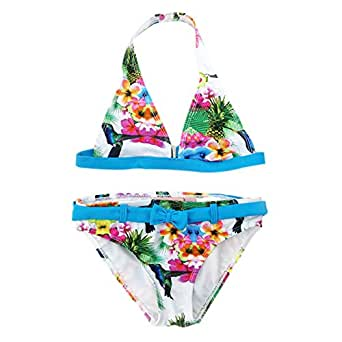 Pandada costume due pezzi ragazza blue 15 16 anni - Costumi piscina due pezzi ...
