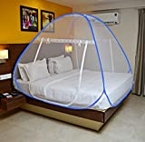 #5: OnlineTree Double Bed Foldable Mosquito Net(blue border)