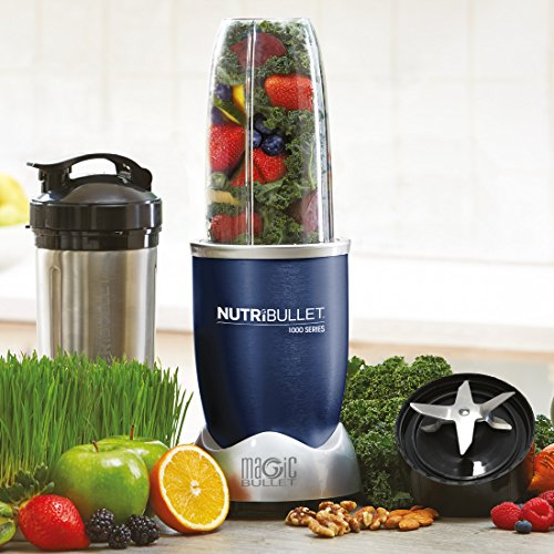 NUTRiBULLET Pro 1000 Series Extractor Blender 9-Piece Set , 0.93 L, 1000 W
