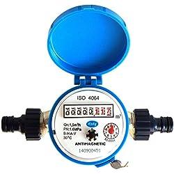 Medidor de flujo de agua la casa y el jardín 1,5 m³ / h - jardín conectores de agua fría