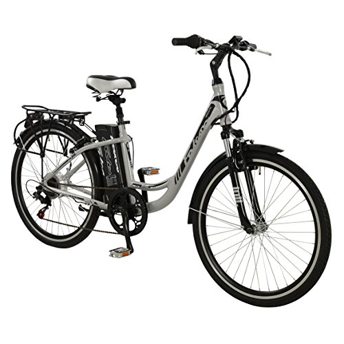 "Price comparison product image 26"" Jolt Electric BIKE - MTB Alloy e-bike Bicycle FALCON (Womens) SILVER New"