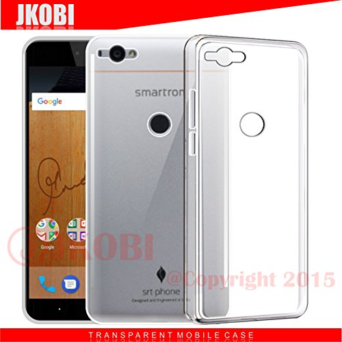 Jkobi Exclusive Soft Silicone TPU Jelly Crystal Clear Case Soft Back Case Cover For Smartron srtphone -Transparent