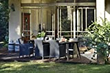 Keter 226562 Allibert Lima Dining Table 235 x 98 cm - Graphite
