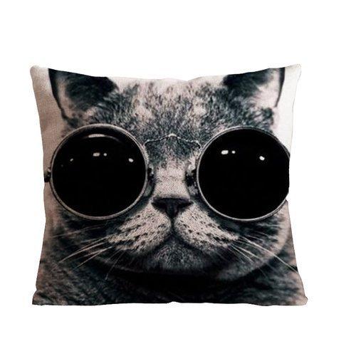 ackershop-un-gato-con-cristal-patron-funda-de-almohada-18-x-4572-cm-manta-funda-de-almohada-con-crem