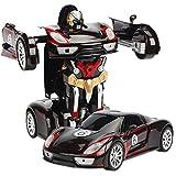 Woote ° Di Rotazione Drift 360 Deformazione Autobot 2 In 1 For Bambini A Distanza Dono Di Controllo Transformer Auto For Bambini Giocattolo Elettrico Del Regalo Delle Ragazze Dei Ragazzi Del Regalo Di