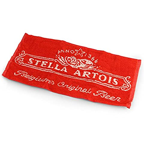 Stella Artois Bar Towel - Official Branded Stella Artois Towel for Home Bars and Pubs