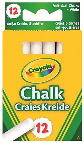 Crayola 01.0280.10 - Weiße Kreide (12x)