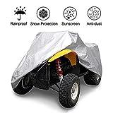 ZHPBHD All-Terrain-Fahrzeug, ATV Case - Weiß, Wasserdicht Schwerer, Allwetter-Schutz, Zu Schützen Universalantrieb Quad-Bike (Color : White, Size : XL)