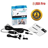 JSD Pro BOYA - by M1 Lapel Microphone for Smart Phone, Action Cameras