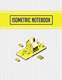 Isometric Notebook: Isometric Graph Paper Notebook 3D Printer Projects and Maths Geometry in School, Engineering Paper Grid of Equilateral Triangles ... Majors, Mathematicians, and Artists