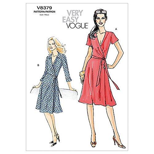 Vogue Schnittmuster 8379Damen Kleid Größen: 8-10-12-14