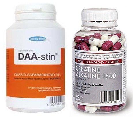 DAA-Stin -Set ! Testo Booster + Creatin Alkaline = Krea-Alkalyn, Sonderangebot Xtrembody