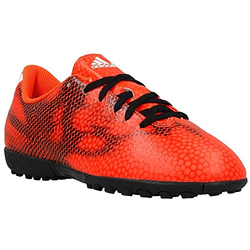 Adidas Performance F5 Tf rouge, chaussures de football mixte FLASH