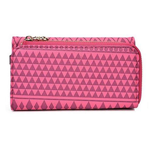 Kroo Pochette/étui pour téléphone Urban Style Tribal pour Protection d'écran Ctrl v6l/haute qualité pour Gionee Elife S5.5 Multicolore - jaune Multicolore - Rose
