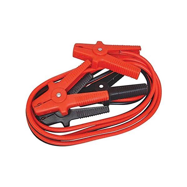 Silverline 594260 Cables de Arranque para Batería de Coche 600 A, 3,6 m