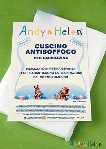 ANDY & HELEN CUSCINO ANTISOFFOCO PER CULLA / CARROZZINA