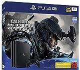 PlayStation 4 Pro – Konsole inkl. Call of Duty – Modern Warfare (1TB, schwarz, Pro)
