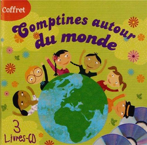 Coffret Comptines Autour du Monde (3 Livres CD)