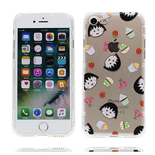 iPhone 7 Plus Custodia, Prova di scossa anti-graffio [ Cartoon Disney Personaggi gioca Dinosauro ] Silicone Trasparente Nuovo Gel Soft Case iPhone 7 Plus Custodia (5.5 pollici) durevole Cartoon Cover # # 5