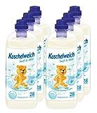 6er Vorteilspack Kuschelweich Weichspüler Weichspueler Sanft & Mild 6000 ml für 168 Anwendungen