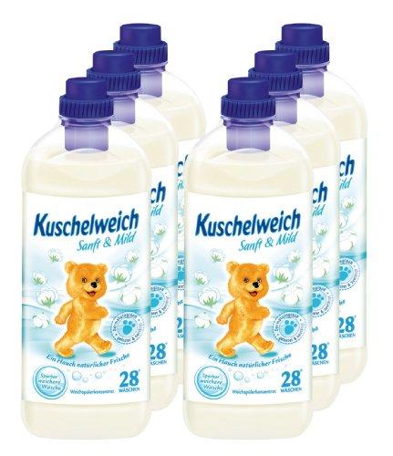 6er-vorteilspack-kuschelweich-weichspuler-weichspueler-sanft-mild-6000-ml-fur-168-anwendungen