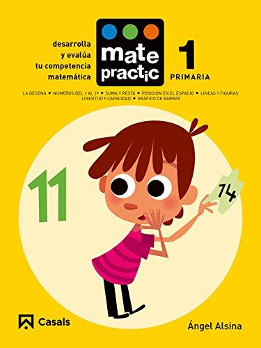 Cuaderno Matepractic 1 Primaria - 9788421858165 (Matepractic castellano España)