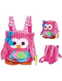 Preisvergleich für Luimode Babyrucksack Kindergartenrucksack Kinder Rucksack Backpack Schultasche für 2-7Jahre Mädchen Jungen,für...
